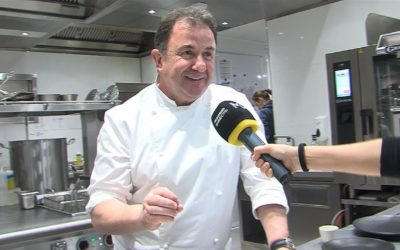 Martín Berasategui llega a Madrid con Etxeko